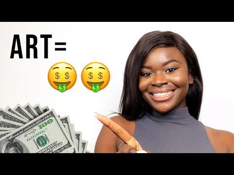 Make MONEY Online as an ARTIST in 2021