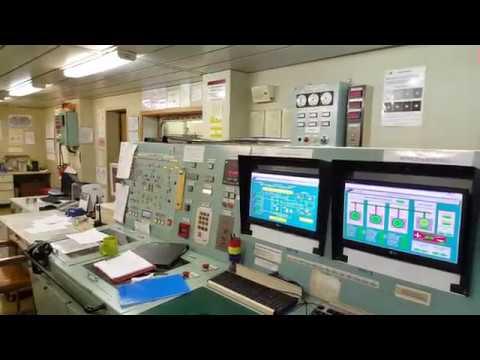 экскурсия по танкеру ARAL SEA продолжение