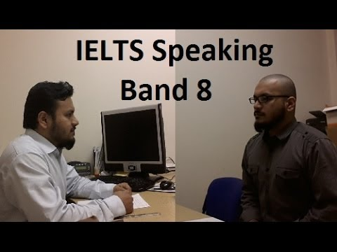 ✔ Real IELTS Speaking Test Samples Band 8 Simulation SYED Part 1