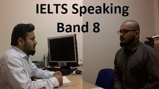 Real IELTS Speaking Test Samples Band 8 Simulation SYED Part 1