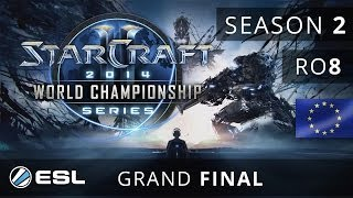 San vs. StarDust - Grand Final - WCS Europe 2014 Season 2 - StarCraft 2