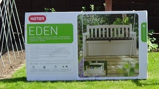 Keter Eden Storage Bench Assembly Instructions