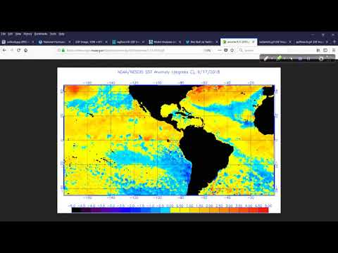 Hurricane Outlook and Discussion for Sept 18, 2018