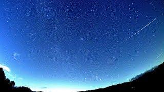 2017年ふたご座流星群 極大日前日の流れ星