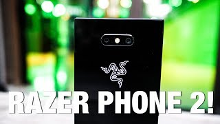 Razer Phone 2 First Look and Impressions!