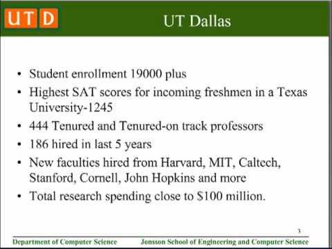 University of Texas at Dallas - Computer Science