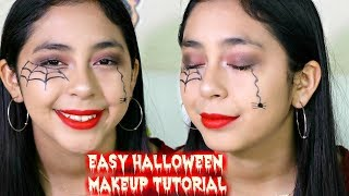 Super Easy Halloween Makeup Tutorial B2cutecupcakes