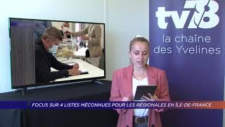 Yvelines | Focus sur quatre listes méconnues pour les régionales en Île-de-France