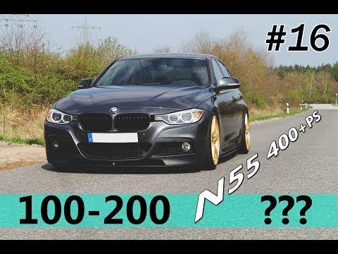 BMW 335i N55 STAGE 2+ | 0 -100 100 - 200 x:xx faster than M4?