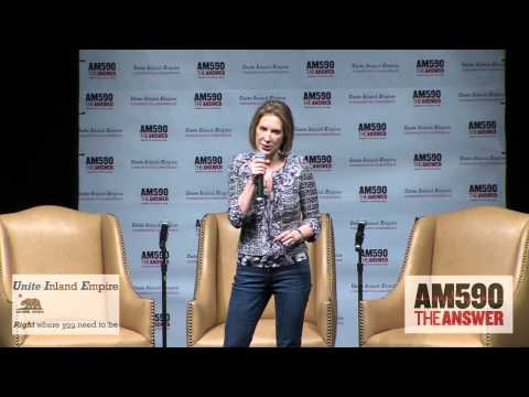 Carly Fiorina at the 2015 Unite IE Conservative Conference