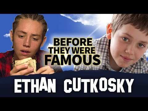 ETHAN CUTKOSKY  Before They Were Famous  Shameless Kid ... and Lil Xan ???