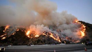 Des images effroyables des incendies en Californie