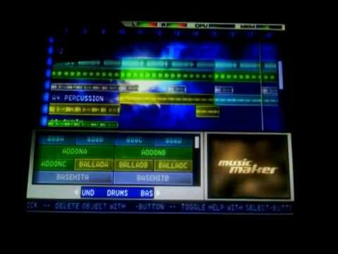 Music Maker Deluxe Edition PS2 Custom Song