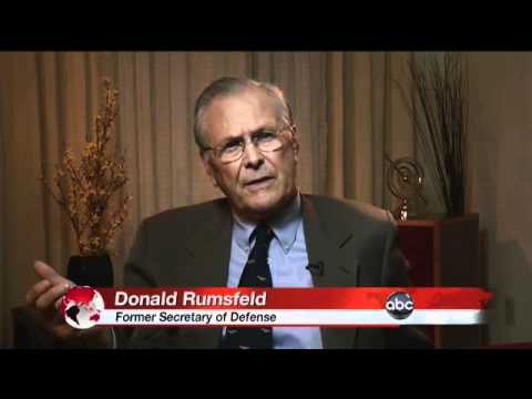 Interview With Donald Rumsfeld: Part 1