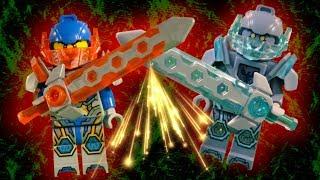 LEGO NEXO KNIGHTS - CLAY MEGA COMPILATION