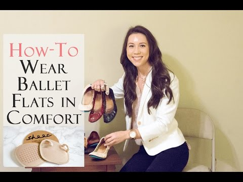 How to Wear Ballet Flats Comfortably all day long - Tieks Ballet Flats Review Series