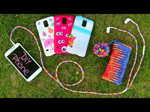 Thumbnail: DIY 10 Easy Phone Projects. DIY Phone (Case, Pouch & More)