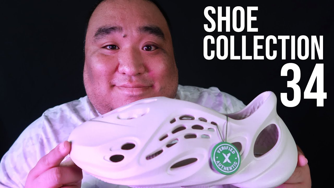 ASMR   SHOE Collection 34 (Tapping and Scratching)