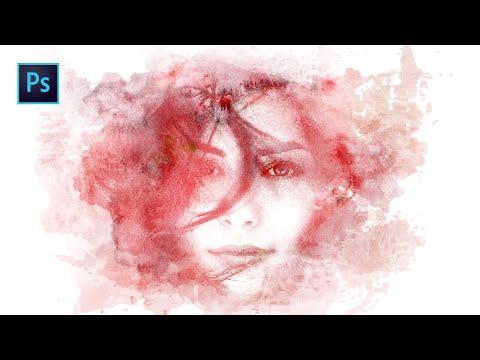 Tuto Photoshop : Effet Peinture à L'eau Monochromatique