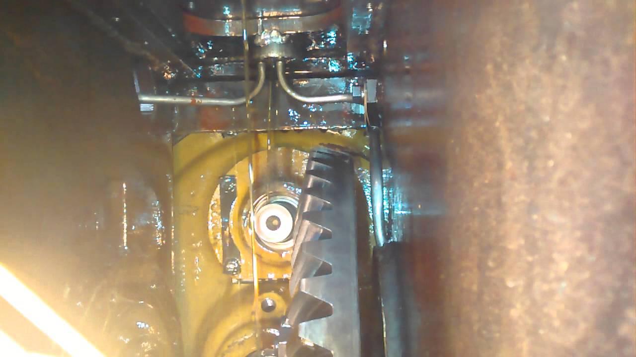 D6c steering clutch valve oil bypass