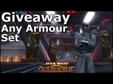 Giveaway - Any Armour Set From The Cartel Market (Dathomir Shaman Though?!) CLOSED
