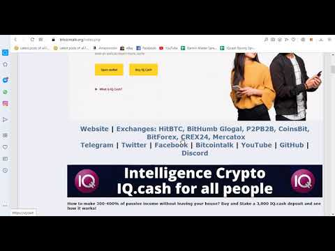 IQ Cash - Cryptocurrency (IQ) for Traders, Investors and Miners| Make 300-400% of Passive Income 11