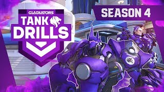 4 OBSCURE TIPS to always WIN as TANK in Overwatch