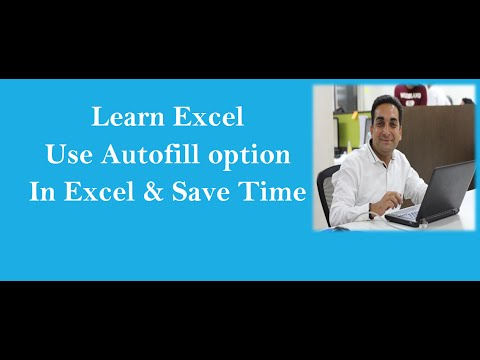 Use Autofill In Excel & Save Time