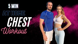 5 dakika DUMBBELL İLE GÖĞÜS BÜYÜTME ANTRENMANI | HER GÜN BİR BÖLGE #3 | 5min Boob Lift Workout