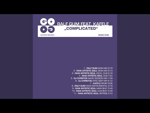 Complicated (Ralf GUM Main Mix) (feat. Kafele)