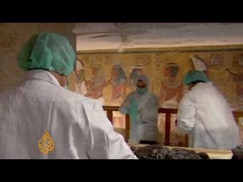 Scientists unravel mystery of King Tut's death