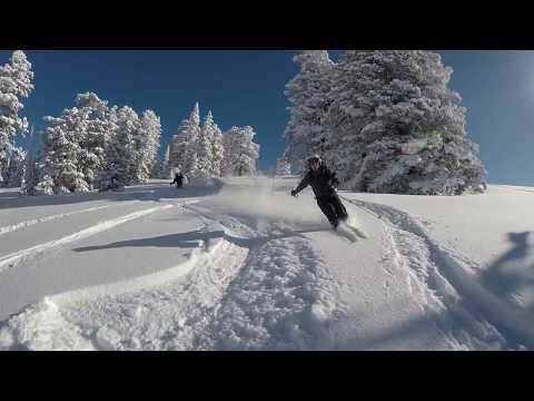 Powder Mountain Super Deep Pow Day January 2017