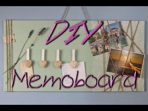 Diy inspiration trailer loom bandz deko fashion schmuck - Memoboard selber machen ...