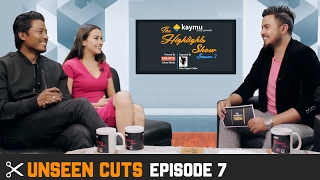 UNSEEN CUTS - Actors NISCHAL BASNET & SWASTIMA KHADKA @ THE HIGHLIGHTS SHOW | Season 2 | Episode 7