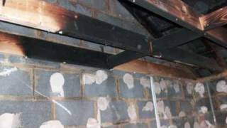 Garage Conversion: Renovation By Dracom Builders Following Fire.