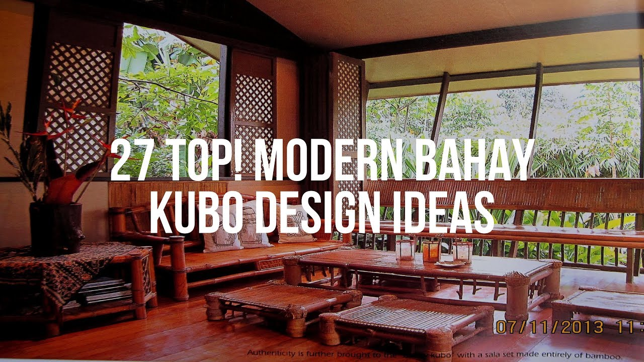 27 Top Modern Bahay Kubo Design Ideas Youtube