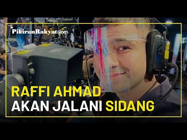 Buntut Kegaduhan Usai Vaksinasi Covid-19, Raffi Ahmad Akan Jalani Sidang Perdana 27 Januari 2021