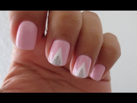 Double ▲ nail tutorial! (tape mani)