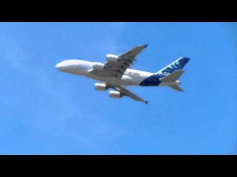 49th International Paris Air Show - Airbus A380-800 Flight Demonstration (F-WWDD - MSN 004)