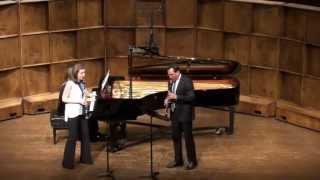 Felix Mendelssohn - Concert Piece No. 2, III. Allegretto grazioso (Nuccio, Carter, and Szutor)