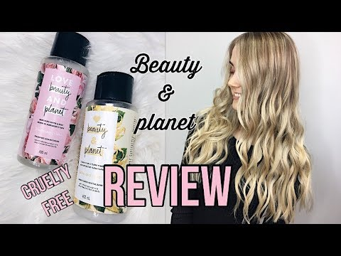 LOVE BEAUTY & PLANET REVIEW | cruelty free haircare