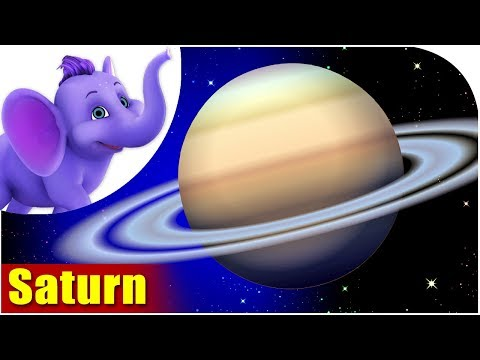 Solar System - Song on Planet Saturn in Ultra HD (4K) - Appu