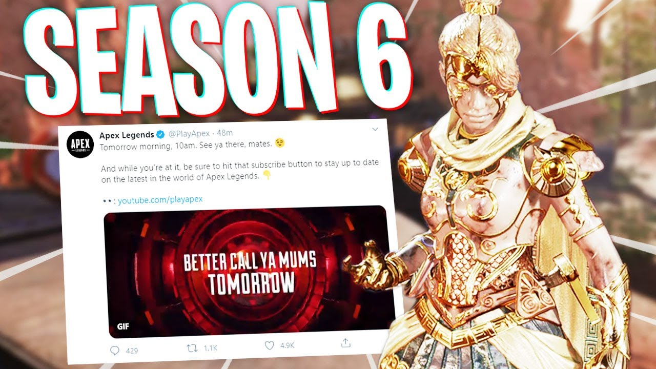 Season 6 Hints Appearing on Apex Legends! - PS4 Apex Legends