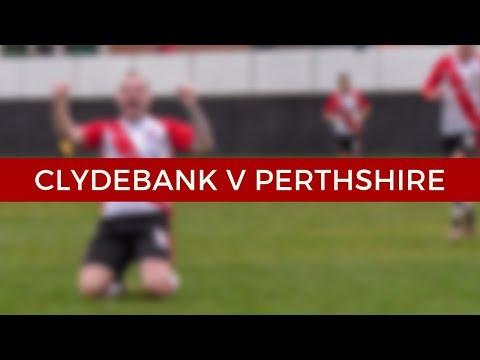 Clydebank v Glasgow Perthshire 10/11/18