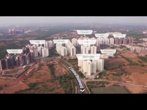 Godrej Garden City Ahmedabad Drone Video