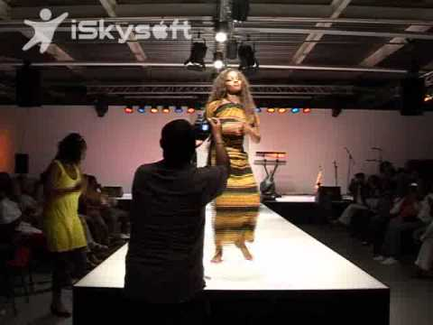 Ethiopian Fashion show by Lilifashion from London to (Amsterdam Sport Festival) 2010