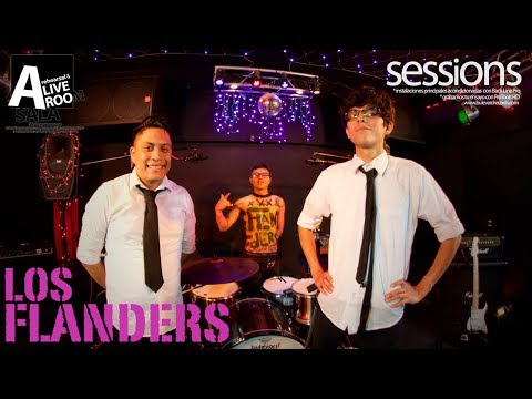 Live Session. Los Flanders – Enganchado & Volver Jamas @Bule
