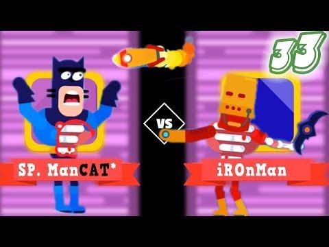 Bowmaster Matcat Catarang Fun Bomber -179 Degree Vip Tournement Part 33 Miniclip Games 123Funs