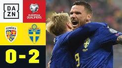 Schweden sichert sich EM-Ticket: Rumänien - Schweden 0:2 | EM-Quali | DAZN Highlights