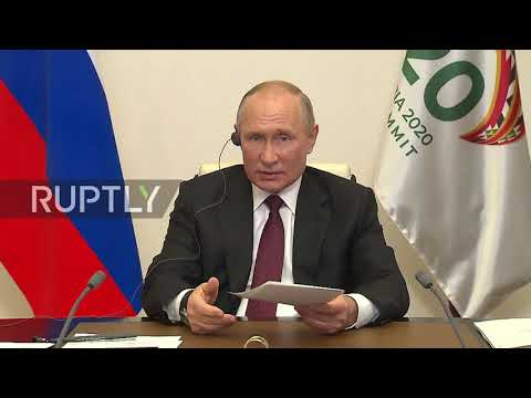 Russia: Moscow ready to provide COVID vaccine to all countries - Putin at G20 summit